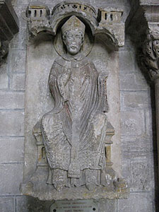 Statue of Thomas Becket, Sens Cathedral